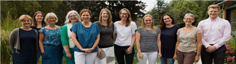 Photograph of the Working To Wellbeing team